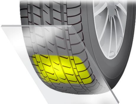 Контактен пластир на гумата